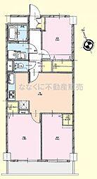日野台ハイツ5階 日野駅歩8分