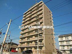 岡山県岡山市南区西市丁目なしの賃貸マンションの外観