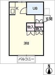 MKハイム幸田[2階]の間取り