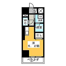 ベレーサ築地口ステーションタワー[11階]の間取り