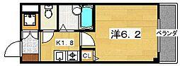 フィルシティー交野[5階]の間取り