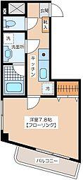 クラウンズコート笹塚[4階]の間取り