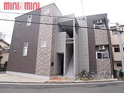 福岡県福岡市西区内浜2丁目の賃貸アパートの外観