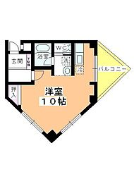 新井ビル[305号室]の間取り