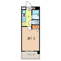 JC STATION 143[804号室]の間取り