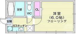 北山駅 2.2万円