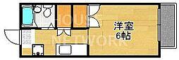フラワーハウス[105号室号室]の間取り
