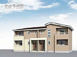 埼玉県上尾市大字川の賃貸アパートの外観