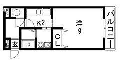 エムズレトア[1階]の間取り