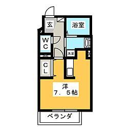 T.Section[3階]の間取り