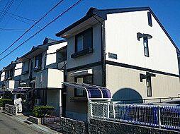 大阪府高槻市城南町3丁目の賃貸アパートの外観
