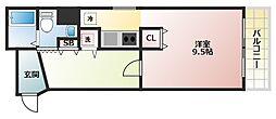 第三双基マンション[3階]の間取り