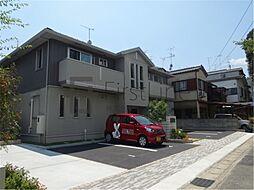 京都府京都市北区西賀茂南川上町の賃貸アパートの外観