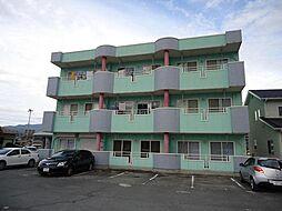 山梨県甲府市国母1丁目の賃貸マンションの外観