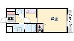 アビタシオン68[2階]の間取り