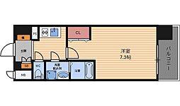 ジュネーゼグラン福島Ebie[4階]の間取り