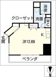 N.S.ZEAL東別院[14階]の間取り