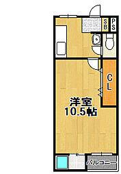 北恩加島住宅1号棟[3階]の間取り