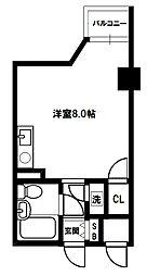 ライオンズマンション南方[3階]の間取り