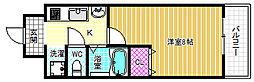 ドルチェヴィータ北梅田[6階]の間取り