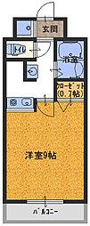 ネクスプロス大和田[3階]の間取り