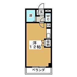 グランテラス柏木[1階]の間取り
