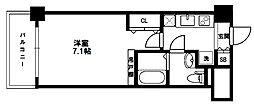 ラクラス新大阪[5階]の間取り