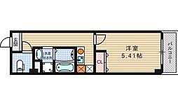 みおつくし江戸堀[9階]の間取り