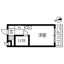 TOP・平和台第1[0308号室]の間取り