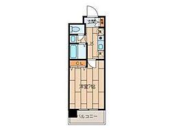 島田マインドタワー[7階]の間取り