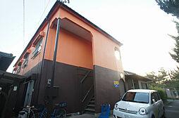 福岡県古賀市日吉3丁目の賃貸アパートの外観