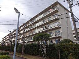 富田第二住宅61号棟[4階]の外観