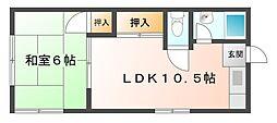 林文化[2階]の間取り