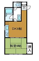 シティプラザ相模[2階]の間取り