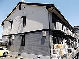 京都府宇治市伊勢田町毛語の賃貸アパートの外観