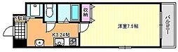 ジュネスコート[3階]の間取り