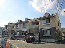 奈良県生駒市俵口町の賃貸アパートの外観