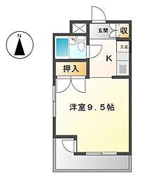 日動千代田ビル[5階]の間取り