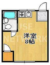 一乗寺荘[10号室号室]の間取り