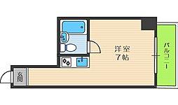 グレイスフル中崎[4階]の間取り