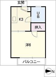 KAME HOUSE[2階]の間取り