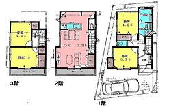参考プラン建物価格1、300万円。土地建物合計価格6、780万円。