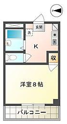 ドルミ花沢台[2階]の間取り