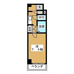 エスポワール松田[2階]の間取り