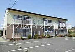岡山県倉敷市玉島黒崎丁目なしの賃貸アパートの外観