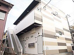 千葉県柏市桜台の賃貸アパートの外観
