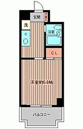 たまプラーザ第3エステービル[0207号室]の間取り