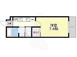 モン・シャトー井の頭公園 3階1Kの間取り