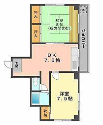 コーポ113[2階]の間取り