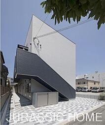 大阪府堺市西区浜寺諏訪森町東1丁の賃貸アパートの外観